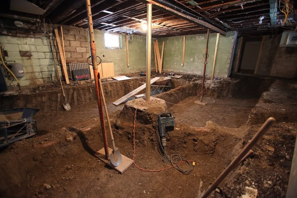 Basement Underpinning Cost In Washington DC
